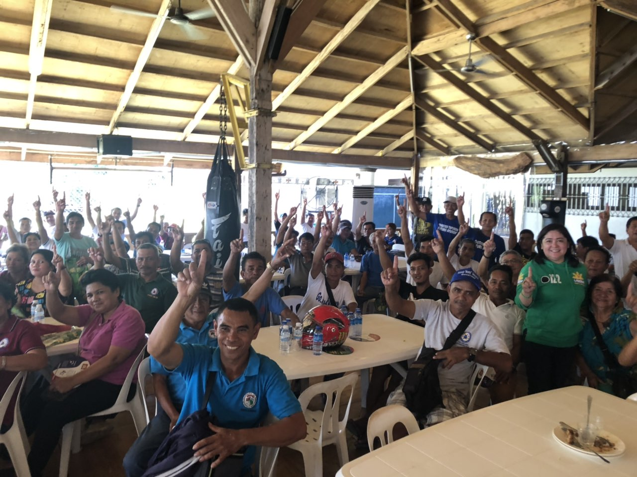 Camarines Sur's 1st District solid to 1 Pacman   1-Pacman